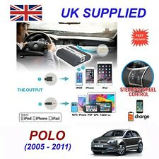 For VW Polo iPhone 5 6 7 8 SE 10 mp3 Aux Digital Audio CD Changer Module 12pin