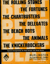 original 1965 Beat Songbook incl. Rolling Stones  Beach Boys  Animals
