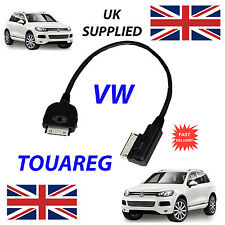 NEW VW TOUAREG MDI 000051446J iPhone iPod 4th Gen Audio Cable with Tagging