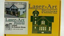 NIB N Branchline Laser-Art #840 Dubois Store Kit
