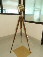 DESIGNER HAND MADE RUSTIC NAUTICAL SPOT LIGHT FLOOR LAMP, MODERN industrial