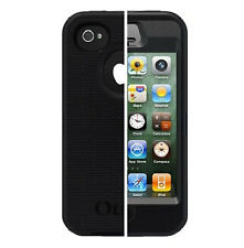 GENUINE NEW OTTERBOX DEFENDER CASE IPHONE 4 4S BLACK APL2-I4SUN-20-E4OTR FOR 4S