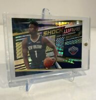 2019/20 Panini Revolution ZION WILLIAMSON ROOKIE HOLOFOIL SHOCK WAVE INSERT Mint