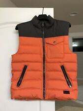 COACH DOWN VEST F86510 SIZE-M/ COLOR-ORANGE
