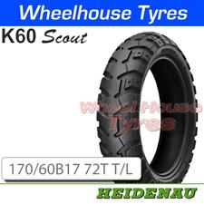 Heidenau K60 Scout 170/60B17 72T T/L M&S