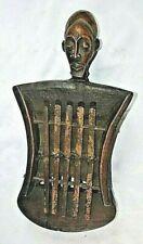 Very Old Kuba Thumb Piano Musical Instrument African Art