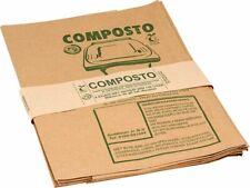 Biologisch Afbreekbare GFT-/Containerzak, Biobakzak, Papier, 140 Liter, 60 stuks