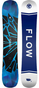 FLOW Burst (WIDE) All Mountain Freestyle Snowboard NEW SHAPE - 2021