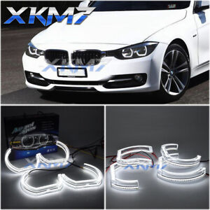 DTM Angel Eyes F30 F31 DRL LED Halo Light Kit For BMW Headlights Accessories DIY