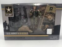 """United States Army K9 Playset Action Figures & Statues New In Box Sealed 3 3/4"""""""