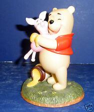Enesco Winnie the Pooh Figurine- Pooh & Piglet- New in Box-  RETIRED- #1027652