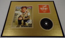 Ed Sheeran 16x20 Framed Rolling Stone Cover & CD Set