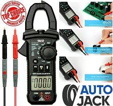Digital Clamp Meter AC/DC Current Voltage Multimeter Tester Flashlight
