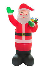 7.9Ft Inflatable Christmas Santa Claus Holiday Mall Airblown Decor Outdoor