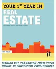 YOUR FIRST YEAR IN REAL ESTATE - ZELLER, DIRK - NEW PAPERBACK BOOK