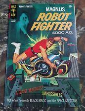 Magnus Robot Fighter Gold Key #21 1968 Comic Book CU