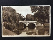 Vintage Postcard - Cambridgeshire #10 - RP Trinity Bridge - 1934 Photochrom
