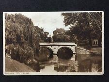 Vintage Postcard - Cambridgeshire #10 - RP Trinity Bridge - 1934 Photochrom