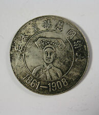 "One Piece de chinois ""Qing"" Dynastie ""Empress Dowager Ci xi"" Lucky Coin"