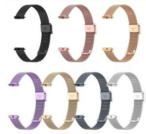 Metal Strap Bracelet for Fitbit Luxe Smart Wristband Stainless Steel Watch Band