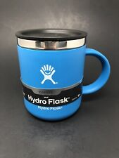 Authentic Hydro Flask 12oz. Travel Coffee Mug - PACIFIC BLUE - Brand New