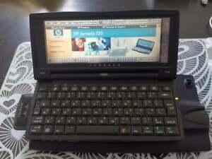 HP Jornada 720 +  Dock + wireless adapter