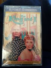 New The King And I Soundtrack Cassette Tape The Rodgers & Hammerstein Sealed NIP