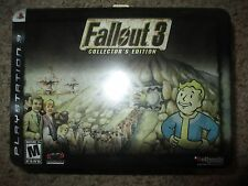 Fallout 3 Collector's Edition PlayStation 3, 2008 ps3 NEW Sealed Small Tears