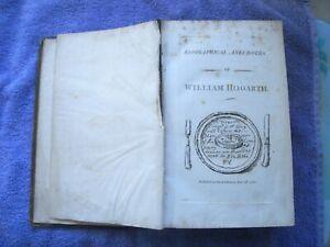 HOGARTH  Anecdotes John Nichols, London, 1785 SCARCE