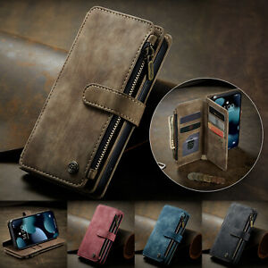 Wallet Case 10 Card Slots Stand Cover For Samsung Galaxy S20 S21 Ultra Note20