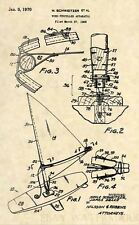 Official Wind Surfer Patent Art Print - 1968 Hoyle sail board windsurf surf 359