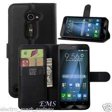 "Wallet Leather Card Holder Flip Case Cover For Asus Zenfone 2 5"" inch ZE500CL"