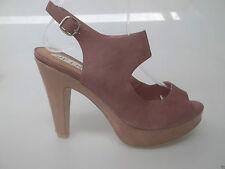 Top End Leather Platform Heels Size 37