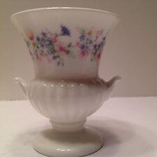 """Miniature Wedgewood porcelain vase 3.5"""" x 3"""" English white England"""