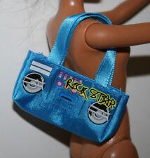 Barbie Doll Blue Cloth Purse