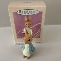 1996 Hallmark Peter Rabbit 1st in Beatrix Potter Series  Easter Ornament/NIB