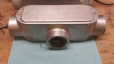 "Conduit Outlet Body w/Cover, Stainless, LB Body Style, Threaded, 2"" CALBRITE"
