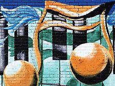 ART PRINT POSTER pittura disegno Street Graffiti Musica Nota COOL lfmp1115