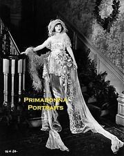 CORINNE GRIFFITH 8X10 Lab Photo 1920s HAUNTING DELICATE BEAUTY, Staircase Grace