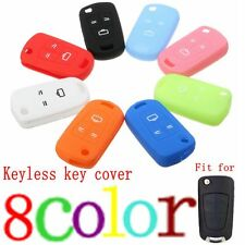 3 Button Silicone Remote Key Cover Case For Vauxhall Opel Corsa Astra Insignia