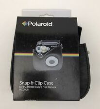Polaroid Snap & Clip Camera Case For The Polaroid PIC-300 Instant Camera (Bla...
