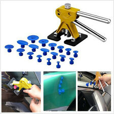 Car Body Paintless Dent Lifter Repair Tool PDR Puller &18 Tabs Hail Removal Tool