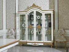 Vitrine Schrank Glas Möbel Antik Stil Barock Rokoko Vitrinen  Echte Handarbeit