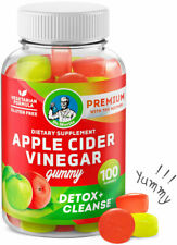Apple Cider Vinegar Gummies 100 COUNT - ACV for Detox & Cleanse and Weight Loss