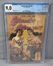 WONDER WOMAN #184 (Adam Hughes Classic Cover) White CGC 9.0 VF/NM DC Comics 2002