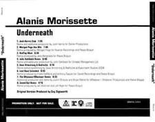 Alanis Morissette: Underneath PROMO MUSIC AUDIO CD Josh Harris Morgan 8 Remixes!