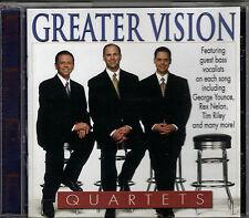 """GREATER VISION....""""QUARTETS""""....GEORGE YOUNCE, TIM RILEY, J.D. SUMNER.....OOP CD"""