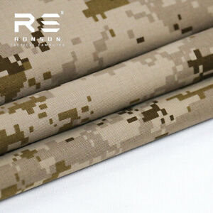 500D Nylon Cloth Fabric for DIY Hunting Tactical Clothing 1.5*1m AOR1 / AOR2