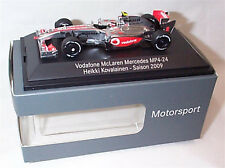 Vodaphone McLaren Mercedes MP 4-24 F1 2009 Nr.2 Heikki Kovalainen - Dealer box