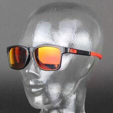 Gafas de sol de hombre de espejo rojos Oakley